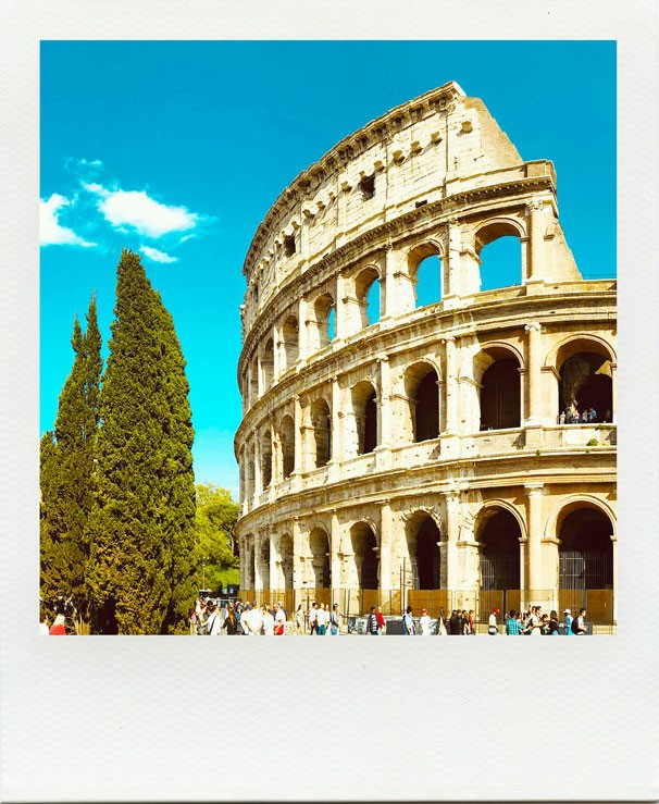 Colosseum and the Ancient city