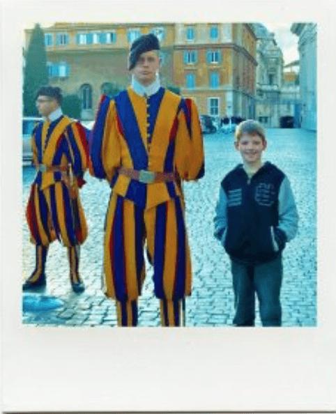 kid and swiss guard vatican treasure hunt for kids